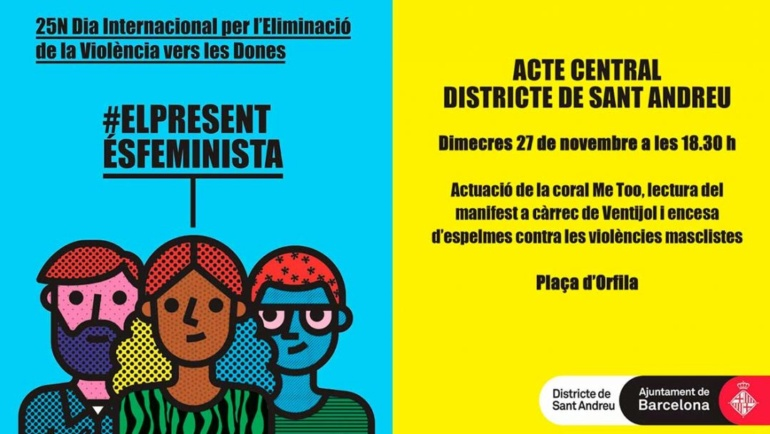 Dia Internacional per l'Eliminació de la Violència vers les Dones